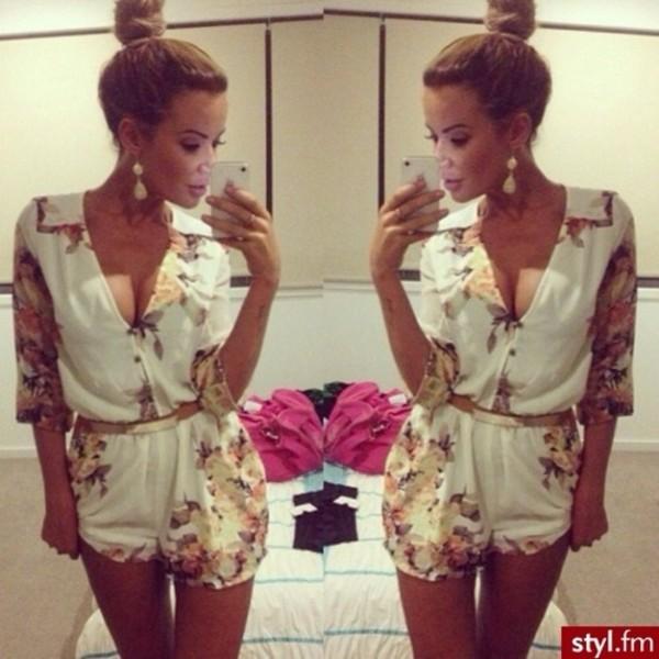 595ca9eb349 blouse floral fashion girly styl.fm dress.