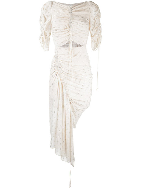 Alice McCall dress women nude silk