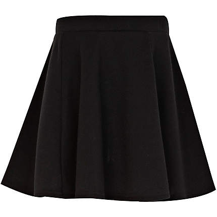 black skater skirt - skirts - girls