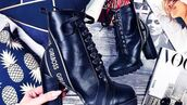 shoes,lace up boots,ankle boots,black boots,boots