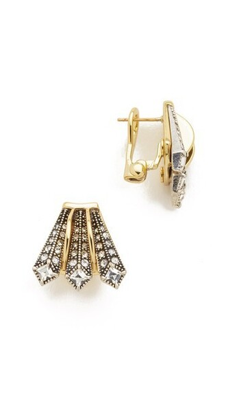 earrings stud earrings gold silver jewels