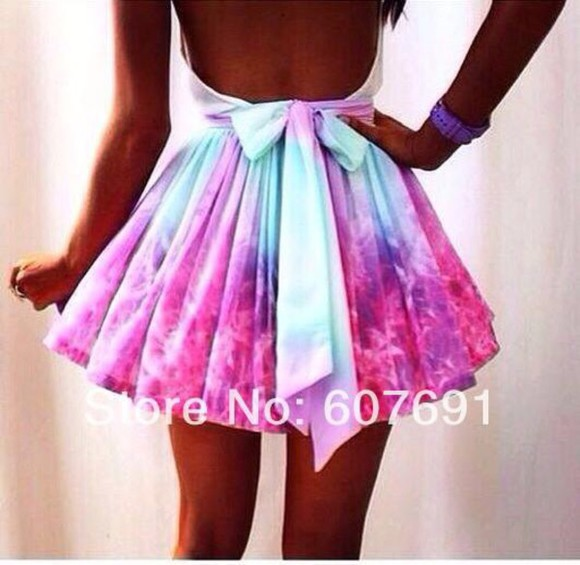 pink dress white dress backless dress blue dress bows hipster print printed dress print dress vintage skater skater dress skater white dress skater pinted dress dress with bow