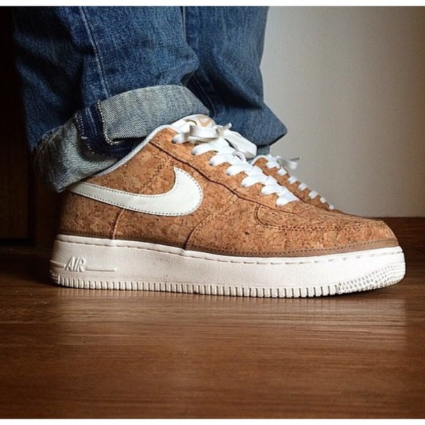 shoes nike air brown shoes style fashion