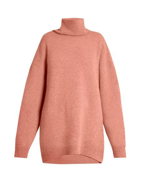 Raey sweater wool sweater wool pink