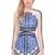 Blue Long Sleeve Contrast Eyelash Lace Mesh Pencil Dress - Sheinside.com