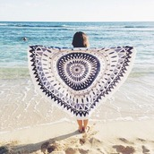 home accessory,blue and white,tapestry,bohemian,hippie,boho chic,beach,mandala,summer holidays,summer accessories,beach roundie,beach throes,mandala beach throw,hippie beach throw,beach towel,discounts