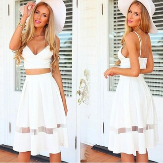 mesh mesh cut out dream closet couture | free shipping party skirt casual skirt skater skirt couture classy