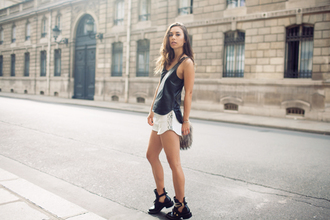 bag shorts tank top shoes fashion toast