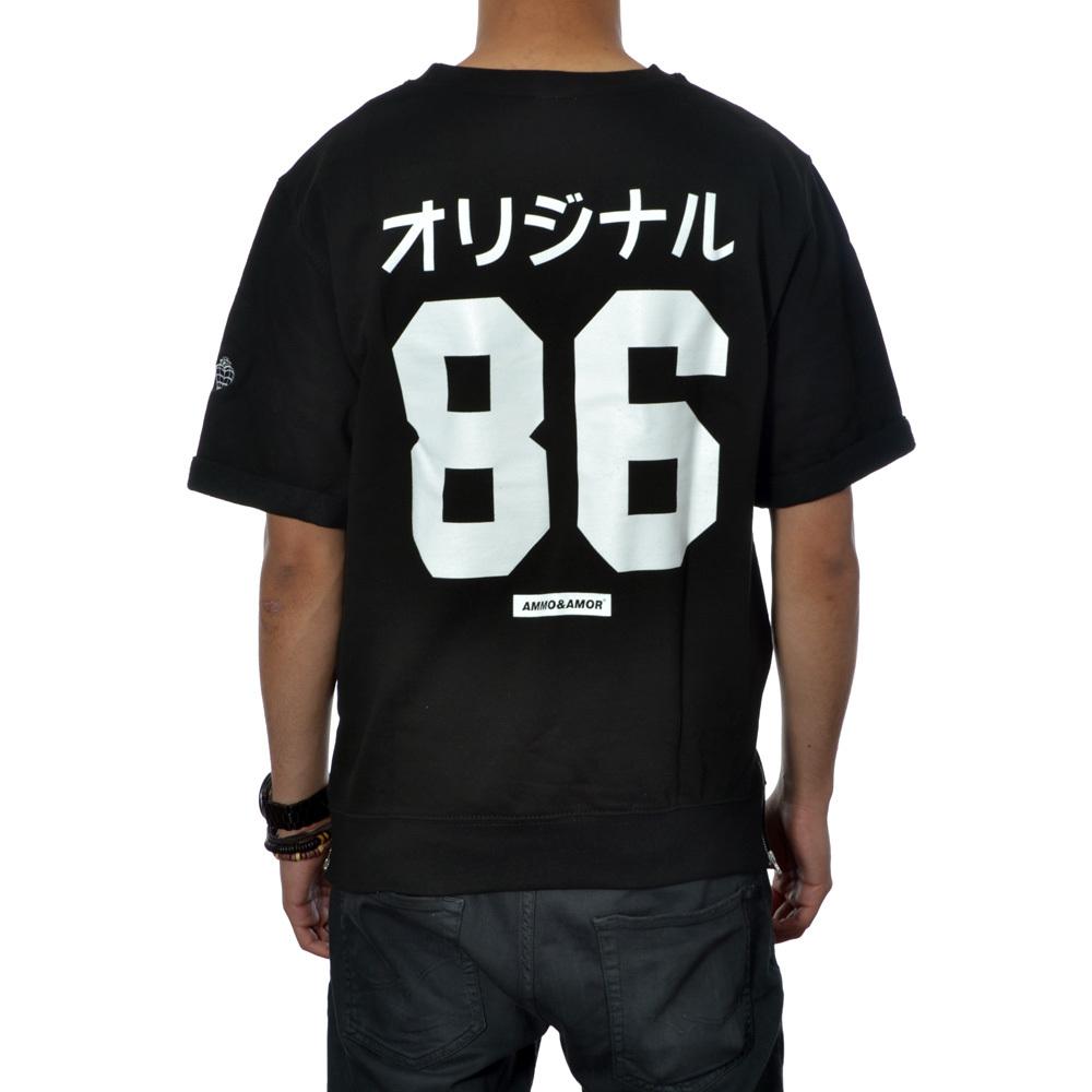 Original 86 short sleeve sweat (black)