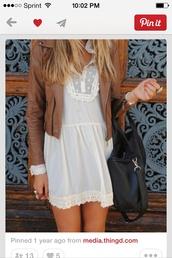 dress,off-white,jacket