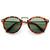 Vintage Inspired Round Wayfarer Frame Sunglasses 8591                           | zeroUV