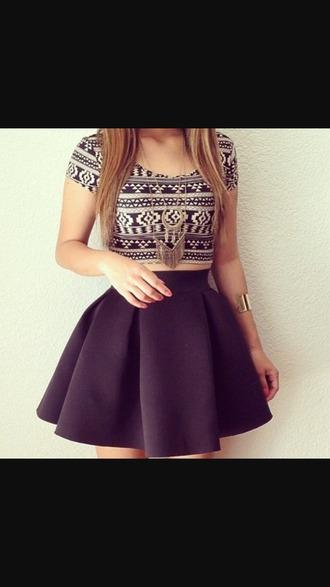 top skirt dress