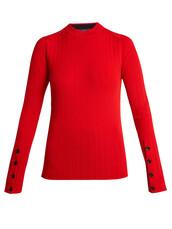 sweater,wool sweater,wool,red
