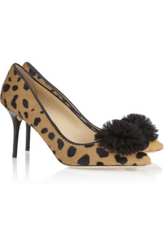 Desirée leopard-print calf hair pumps | THE OUTNET