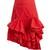 Melted-frill ruffle skirt