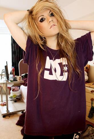 t-shirt tee-shirt burgundy
