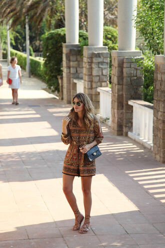 my daily style blogger romper shoes bag