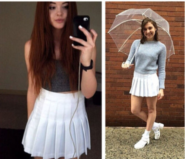 532ceaff59 skirt, home accessory, tennis skirt, pleated skirt, white ...