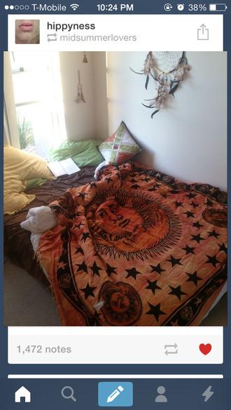 dress tapestry bedding
