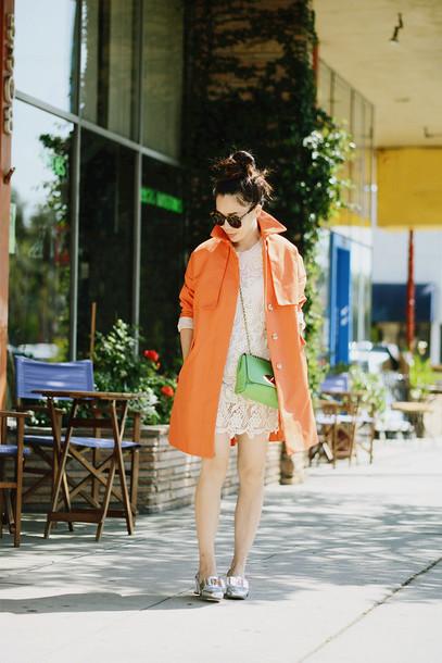 hallie daily coat dress shoes bag sunglasses