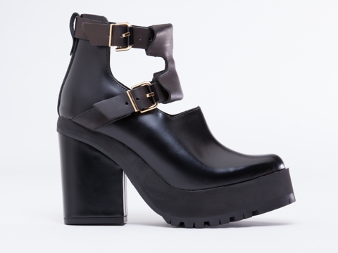 Miista Zaira in Black at Solestruck.com