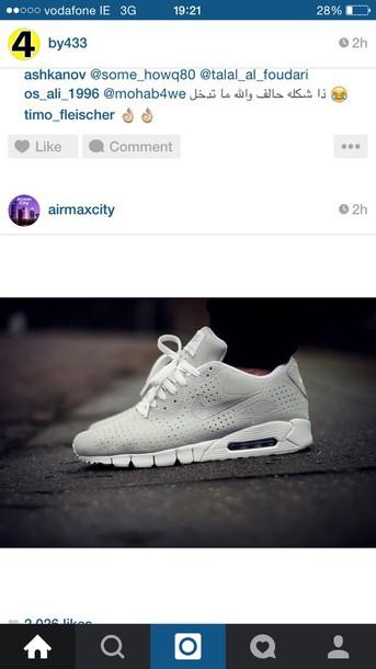 shoes gray nike air