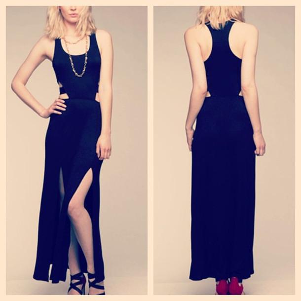 dress maxi dress shut it down black fashion fashionista makeup table vanity row dress to kill