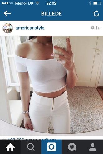 jeans white jeans zipper white jeans