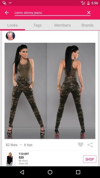 jeans camouflage skinny jeans camo skinny jeans womens