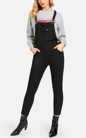 jumpsuit,girly,girl,girly wishlist,one piece,overalls,black jumpsuit,black,denim,denim overalls