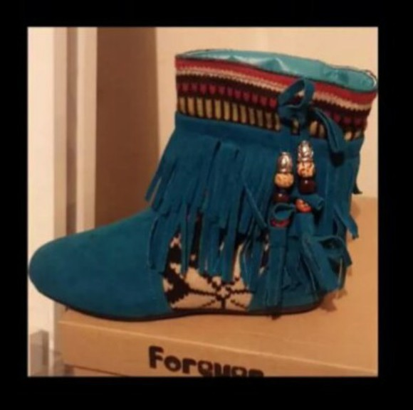 shoes forever fringe moccassins boots