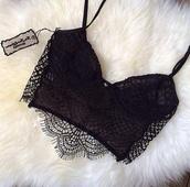 shirt,black,miley cyrus,tank top,lace bikini top,crop tops,lace,blouse,bra,brasletes,brasilian,sexy,summer,dentelles,underwear,girl,fashion