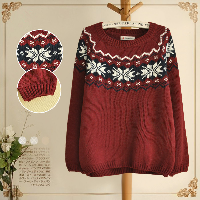 shipping new 2013 winter cute christmas sweaters for womens ...