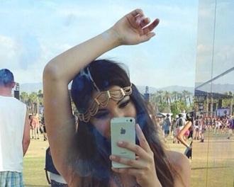 hair accessories gold pretty hairband hair hairpiece