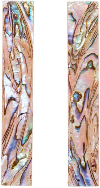 CHRISTOPHER KANE pearl earrings pink jewels
