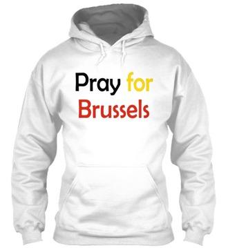 sweater brussels bruxelles shirt hoodie pray for paris pray for brussels pray for the world