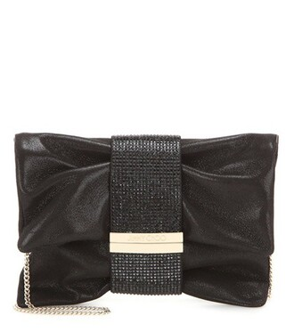 bag shoulder bag suede black