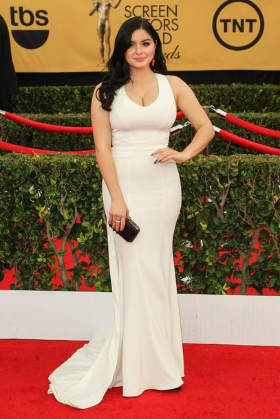 dress ariel winter prom