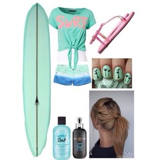 nail polish surf summer sports