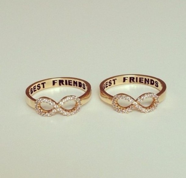 jewels bff best friends infinity ring infinity gold
