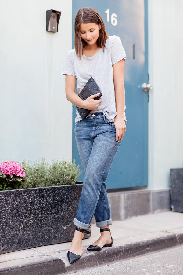 harper & harley jeans t-shirt bag