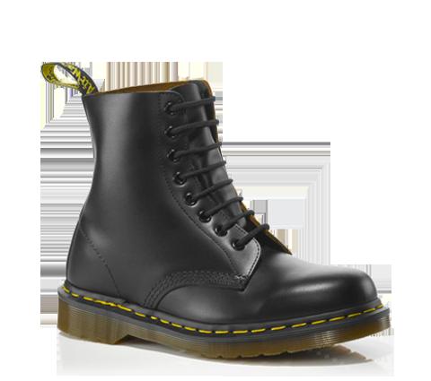 dr martens vintage 1460 black quilon doc martens boots. Black Bedroom Furniture Sets. Home Design Ideas
