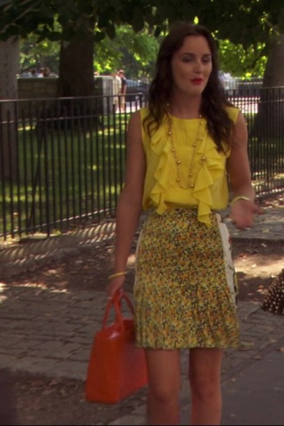 blair waldorf gossip girl style outfit dress