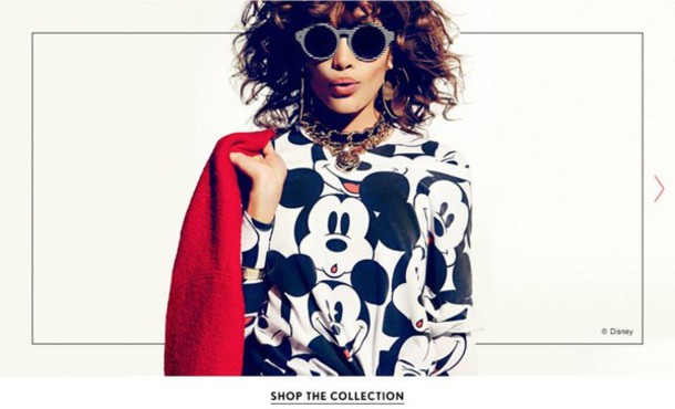 sweater forever 21 mickey mouse