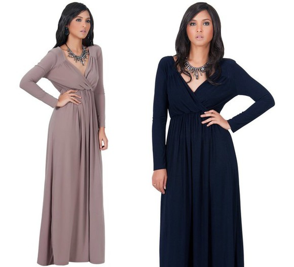 maxi dress pink dress long sleeve dress