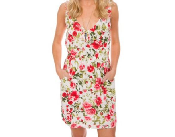dress mika floral dress