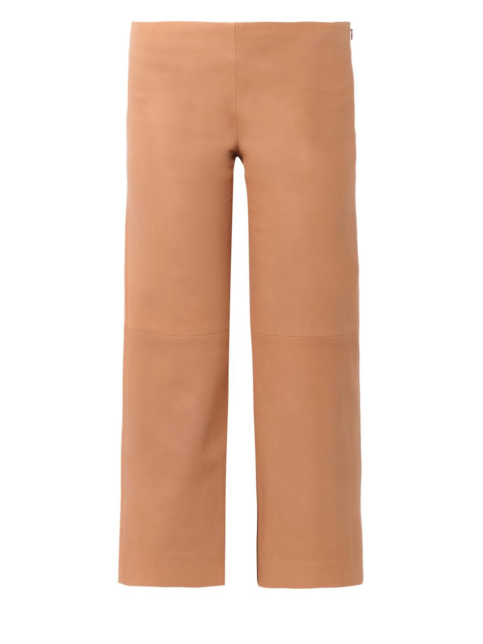 Leather culottes | Chloé | MATCHESFASHION.COM