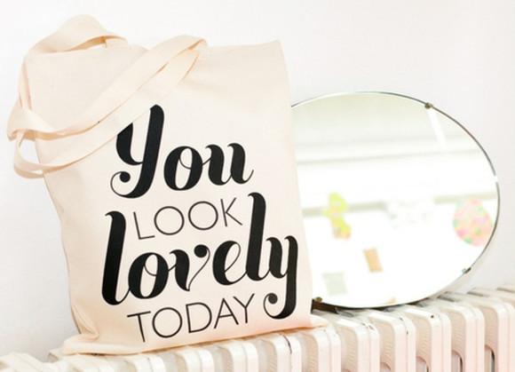 bag printed bag