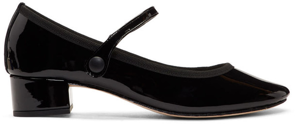 Repetto rose heels black shoes
