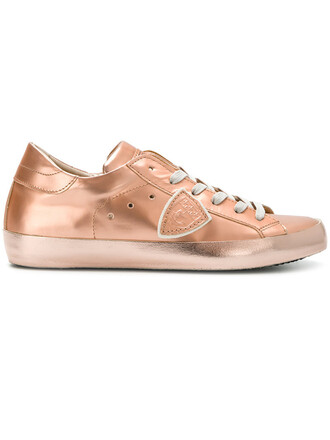 women sneakers lace leather grey metallic shoes